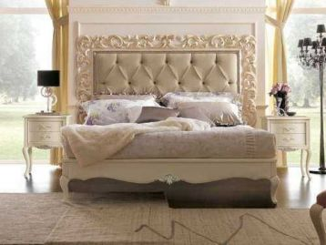 Кровать с резным изголовьем Memorie veneziane Giorgiocasa