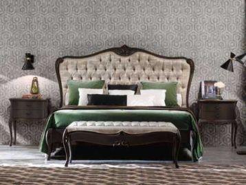 Кровать с резным изголовьем Valpolicella Giorgiocasa