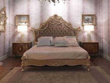 Кровать с резным изголовьем Prestige Medea