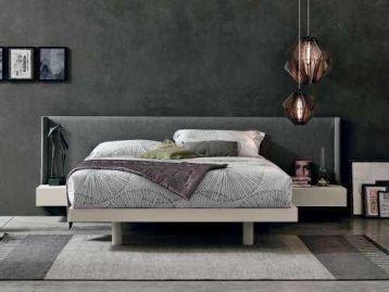 Кровать с встроенными тумбочками Fusion Tomasella