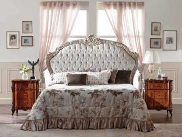 Кровать с мягким изголовьем Ducale Mab Cantu