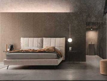Кровать с мягким регулируемым изголовьем On line Ditre Italia