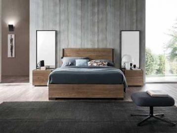 Кровать Da-do Dice Quercia Tabacco Surfaced Alf