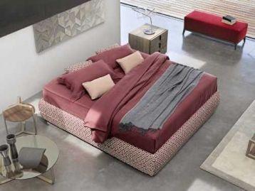 Кровать без изголовья Mandarine Sommier Flou