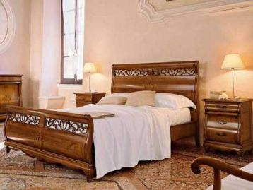 Кровать с изножьем Bella Italia Tarocco Vaccari