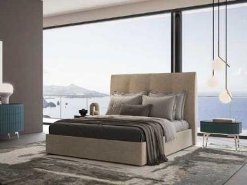 Кровать с высоким изголовьем Oceano Signorini & Coco