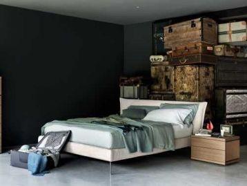 Кровать с металлическими ножками Morrison Alf