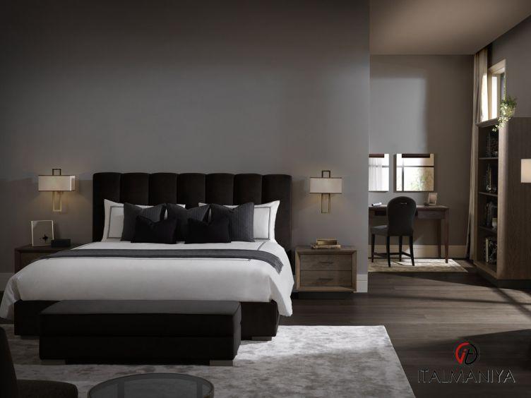 Фото 1 - Спальня Milano фабрики Tosconova (производство Италия) в современном стиле из массива дерева