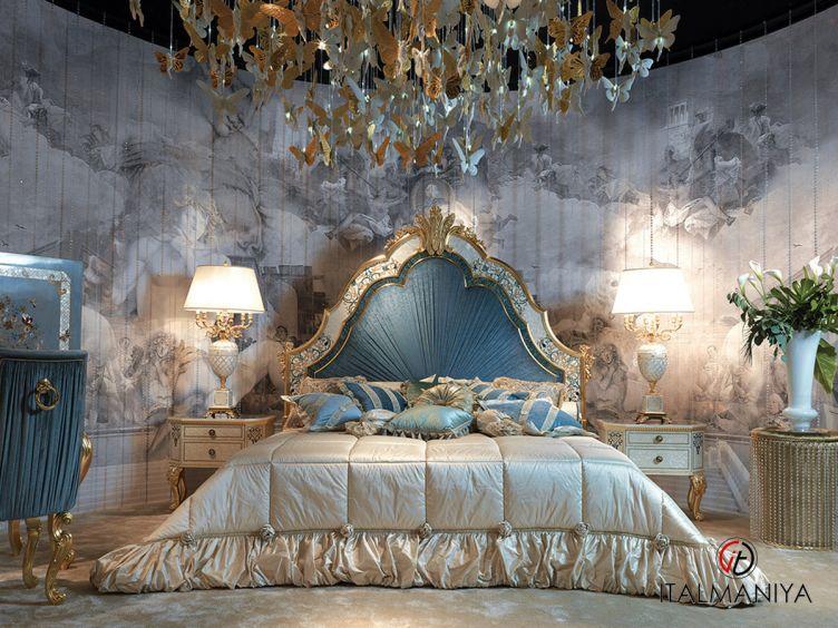 Фото 1 - Спальня Sea shell фабрики Caspani Tino (производство Италия) в классическом стиле из массива дерева