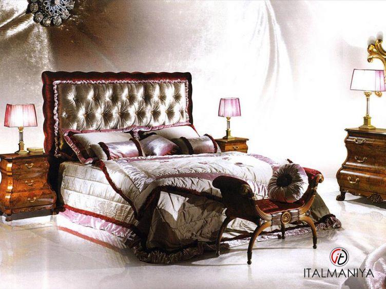 Фото 1 - Спальня Bellagio фабрики Caspani Tino (производство Италия) в классическом стиле из массива дерева