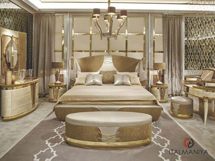 Фото 1 - Спальня Ermes фабрики Riva (производство Италия) в классическом стиле из массива дерева