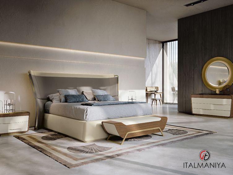 Фото 1 - Спальня Melting Light collection фабрики Turri (производство Италия) в современном стиле из массива дерева