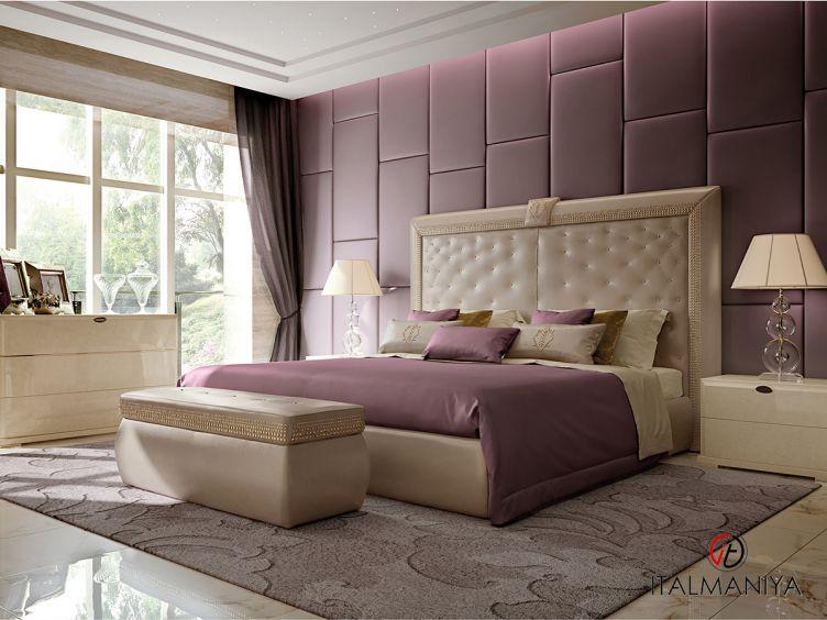 Фото 1 - Спальня Stardust фабрики Turri (производство Италия) в современном стиле из массива дерева