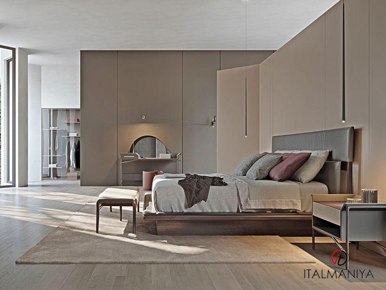 Фото 1 - Спальня Vine collection фабрики Turri (производство Италия) в современном стиле из массива дерева