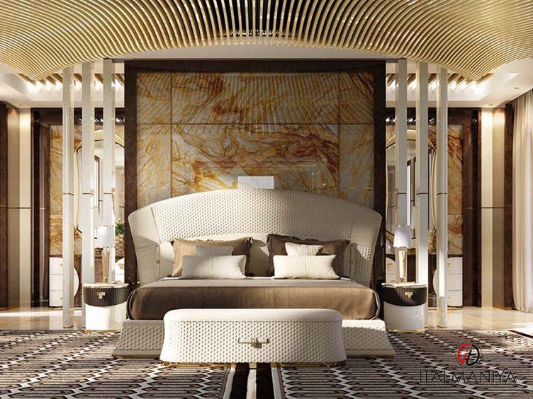 Фото 1 - Спальня Vogue фабрики Turri (производство Италия) в современном стиле из массива дерева
