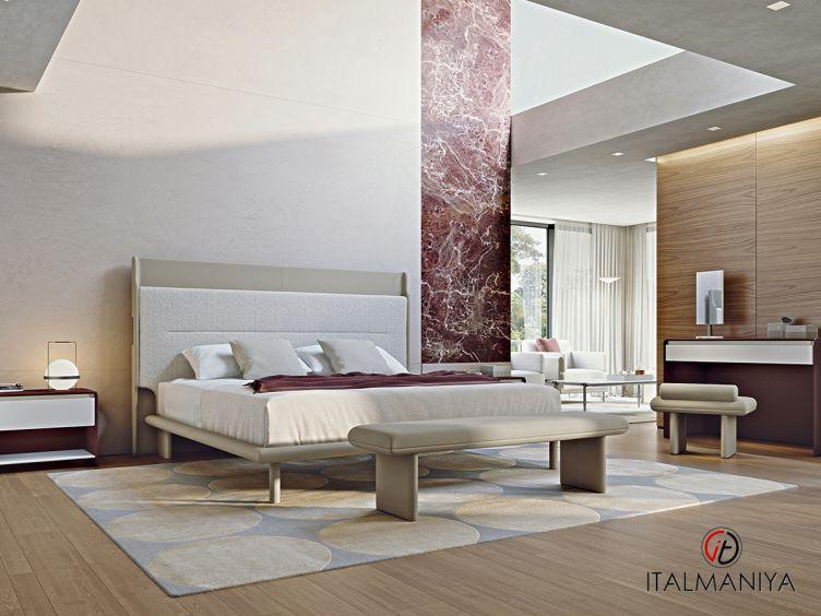 Фото 1 - Спальня Zero фабрики Turri (производство Италия) в современном стиле из массива дерева