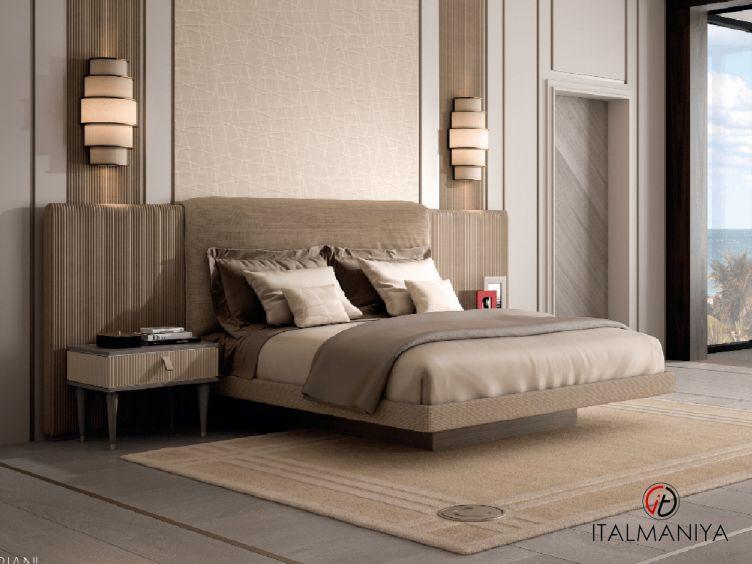 Фото 1 - Спальня Cocoon Large wings фабрики Cipriani (производство Италия) в современном стиле из массива дерева