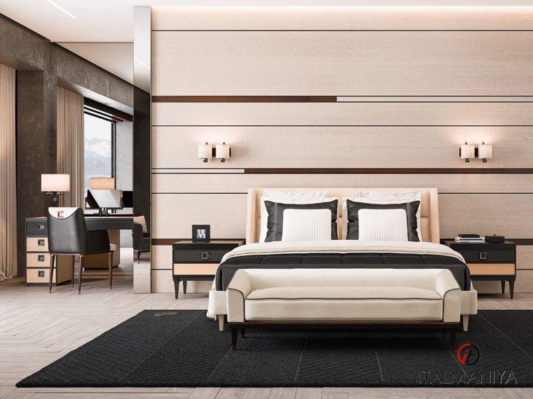 Фото 1 - Спальня Sesto Senco 1 фабрики Cipriani (производство Италия) в современном стиле из массива дерева