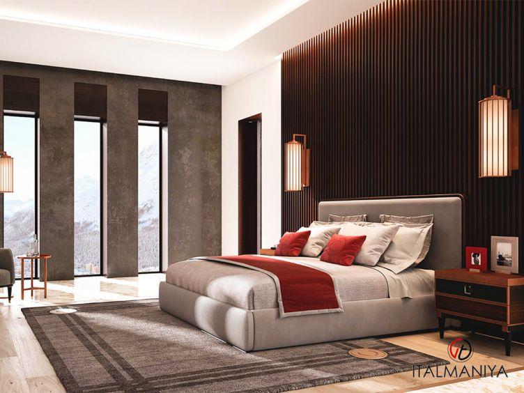 Фото 1 - Спальня Sesto Senco 2 фабрики Cipriani (производство Италия) в современном стиле из массива дерева