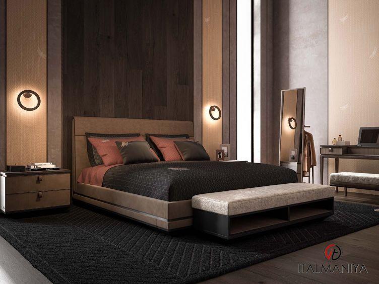 Фото 1 - Спальня Dragonfly фабрики Cipriani (производство Италия) в современном стиле из массива дерева