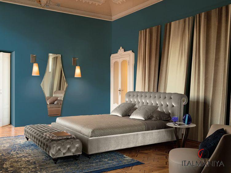 Фото 1 - Спальня Alfred фабрики Alberta (производство Италия) в классическом стиле из массива дерева