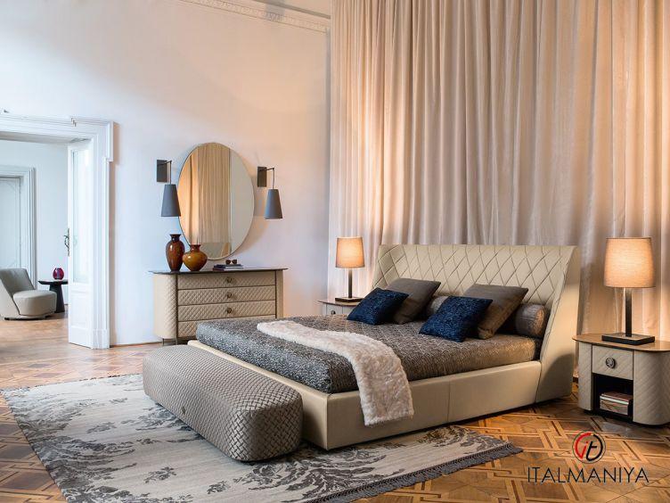 Фото 1 - Спальня Grace фабрики Alberta (производство Италия) в классическом стиле из массива дерева