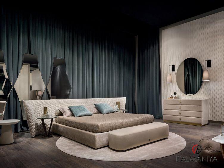 Фото 1 - Спальня Semira 2 фабрики Alberta (производство Италия) в классическом стиле из массива дерева