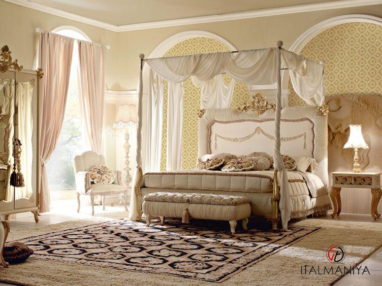 Фото 1 - Спальня Vipart 2 фабрики Altamoda (производство Италия) в классическом стиле из массива дерева