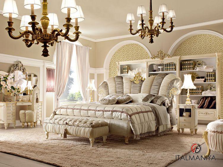 Фото 1 - Спальня Vipart 3 фабрики Altamoda (производство Италия) в классическом стиле из массива дерева
