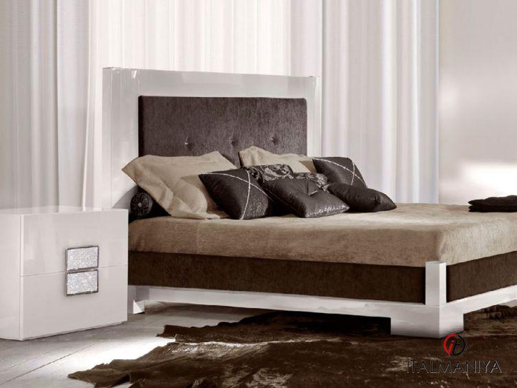 Фото 1 - Спальня Glamourus фабрики Amelihome (производство Италия) в современном стиле из массива дерева