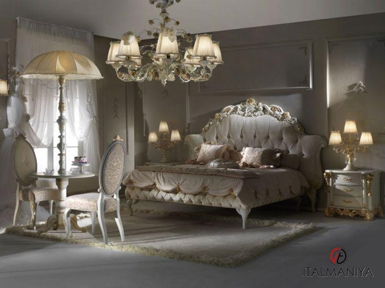 Фото 1 - Спальня композиция 364 Mon Amour фабрики Bitossi (производство Италия) в классическом стиле из массива дерева