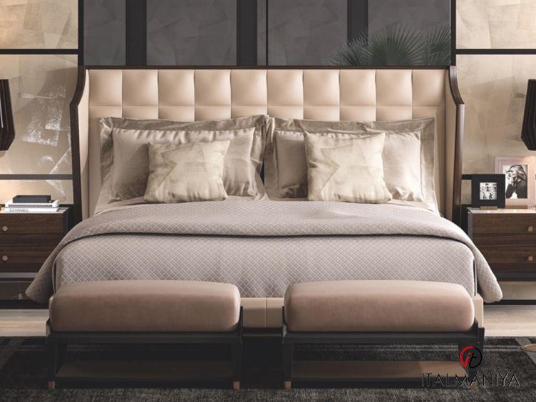 Фото 1 - Спальня Eclipse фабрики Cipriani (производство Италия) в современном стиле из массива дерева