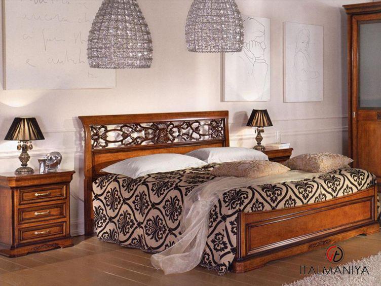 Фото 1 - Спальня Bovolone фабрики Vaccari Cav. Giovanni (производство Италия) в классическом стиле из массива дерева