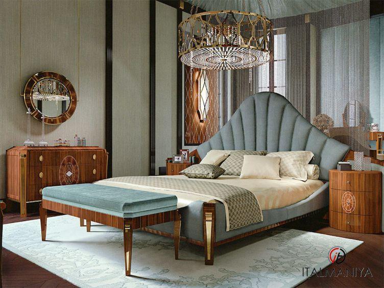 Фото 1 - Спальня Daisy фабрики Bianchini (производство Италия) в современном стиле из массива дерева