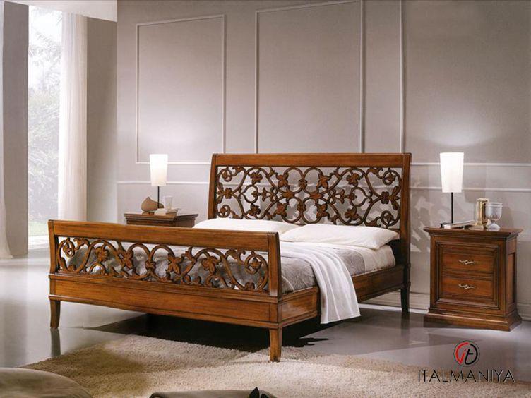 Фото 1 - Спальня Beatrice фабрики Tessarolo (производство Италия) в классическом стиле из массива дерева