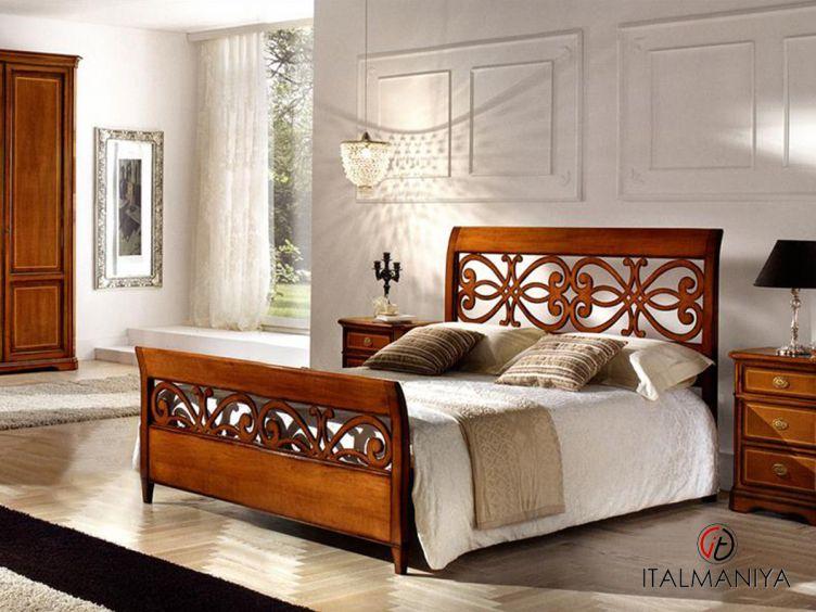 Фото 1 - Спальня Ciclamino фабрики Tessarolo (производство Италия) в классическом стиле из массива дерева