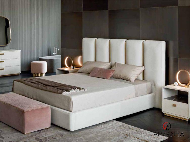 Фото 1 - Спальня Club фабрики Rugiano (производство Италия) в современном стиле из металла
