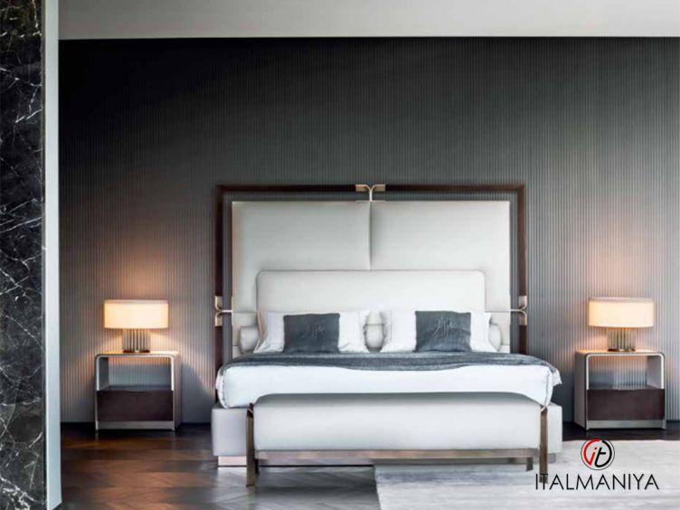 Фото 1 - Спальня Grace фабрики Rugiano (производство Италия) в современном стиле из металла