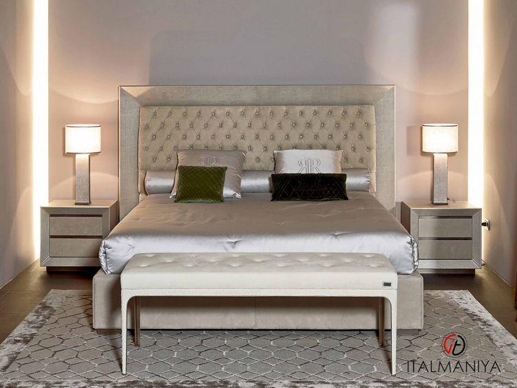 Фото 1 - Спальня Kenya фабрики Rugiano (производство Италия) в современном стиле из металла
