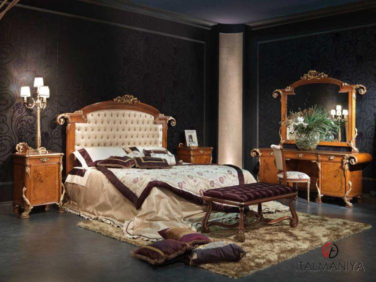 Фото 1 - Спальня Passion фабрики Citterio (производство Италия) в классическом стиле из массива дерева