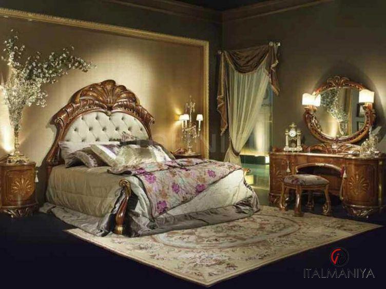 Фото 1 - Спальня Margherita фабрики Citterio (производство Италия) в классическом стиле из массива дерева