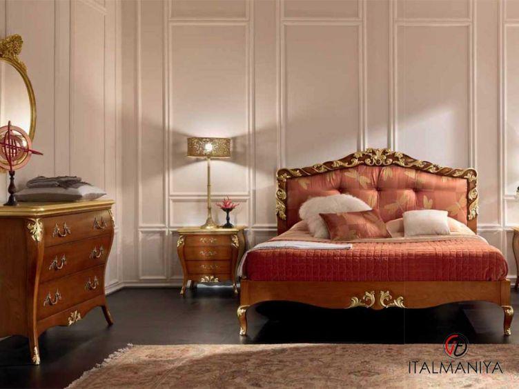 Фото 1 - Спальня Magnolia фабрики Bamax (производство Италия) в классическом стиле из массива дерева