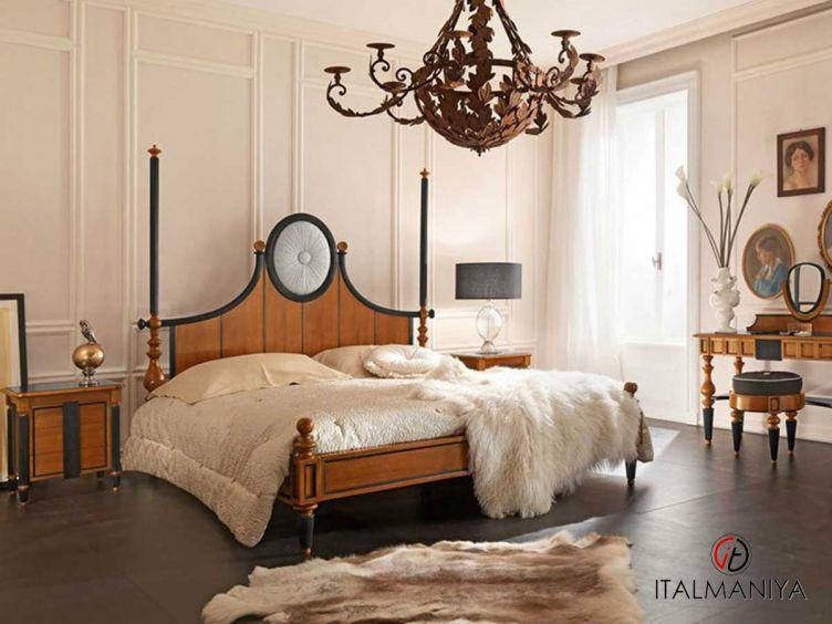 Фото 1 - Спальня Gazza Ladra фабрики Bamax (производство Италия) в классическом стиле из массива дерева