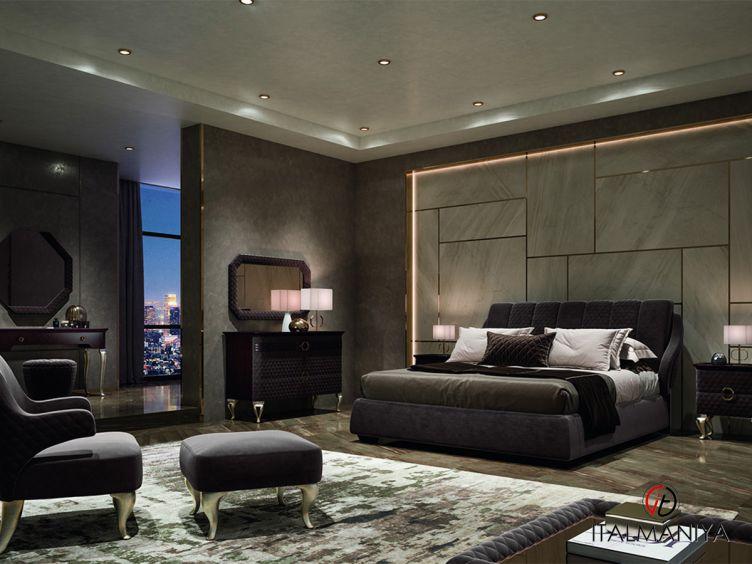 Фото 1 - Спальня Broadway фабрики Signorini & Coco (производство Италия) в современном стиле из массива дерева