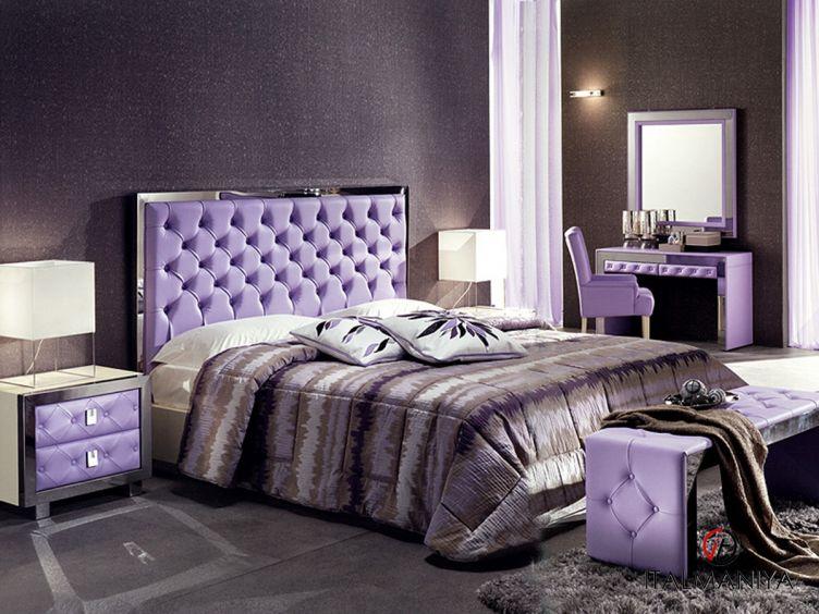 Фото 1 - Спальня Gardenia фабрики Formerin (производство Италия) в современном стиле из массива дерева