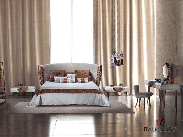 Фото 1 - Спальня Aqvila фабрики Elledue (производство Италия) в стиле арт-деко из массива дерева