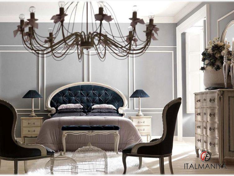 Фото 1 - Спальня Art 1991 фабрики Savio Firmino (производство Италия) в классическом стиле из массива дерева