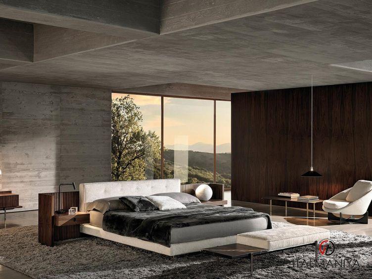 Фото 1 - Спальня Brasilia фабрики Minotti (производство Италия) в современном стиле из массива дерева