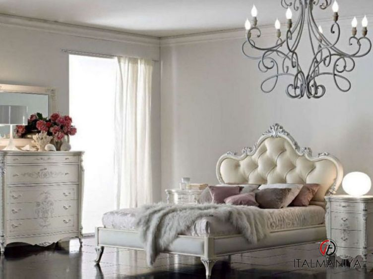 Фото 1 - Спальня Julie фабрики A&M Ghezzani (производство Италия) в стиле прованс из массива дерева