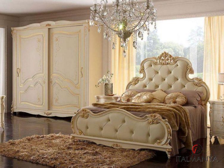 Фото 1 - Спальня Michelangelo фабрики A&M Ghezzani (производство Италия) в классическом стиле из массива дерева
